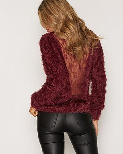 Fluffy Lace Knit NLY Trend stickade tröja till dam.