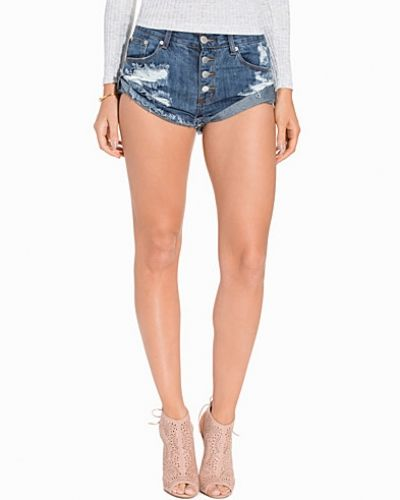 Glamorous Folded Denim Shorts