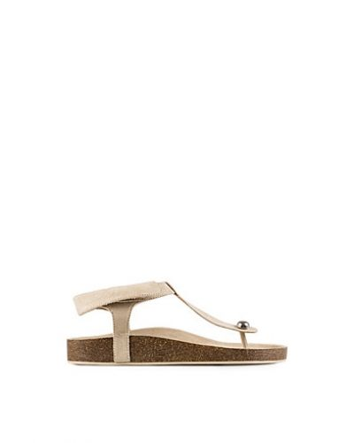Nly Shoes Folded Edge Flat