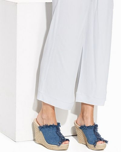 Frayed Rope Mule Nly Shoes wedge-klack till dam.