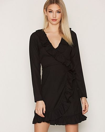 NLY Trend Frill Wrap Dress