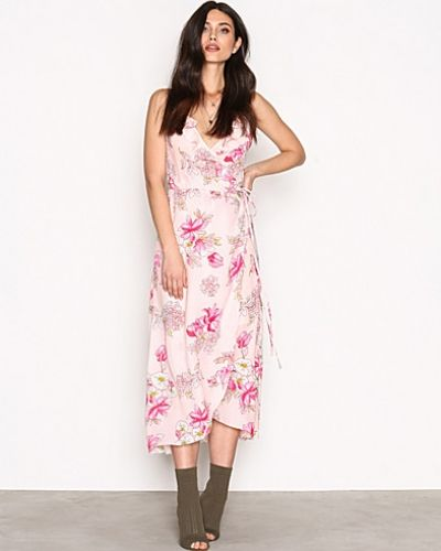 Frill Wrap Strap Long Dress NLY Trend maxiklänning till dam.