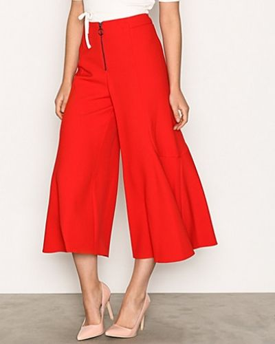 Frill Zip Palazzo Trousers Topshop byxa till dam.