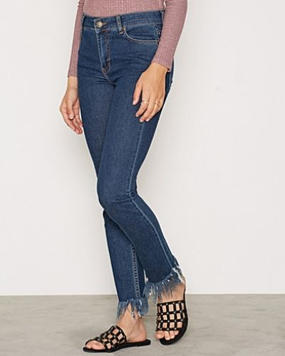 Slim fit jeans Fringe Denim från NLY Trend