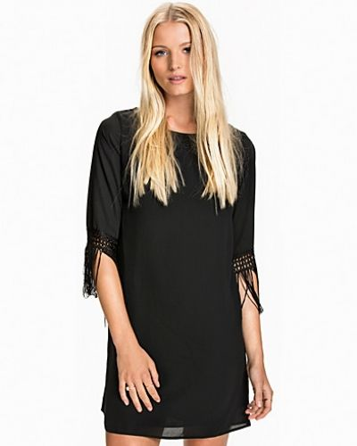 New Look Fringed Tunic Dress