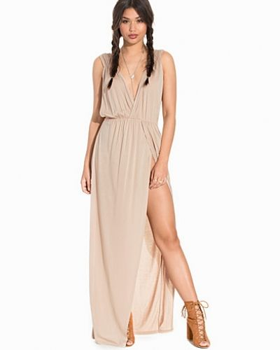 NLY Trend Front Pleat Maxi Dress
