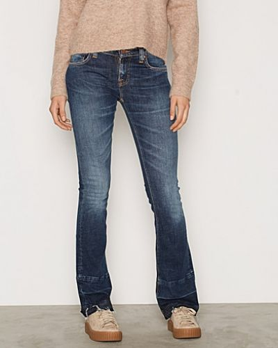 Nudie Jeans bootcut jeans till dam.