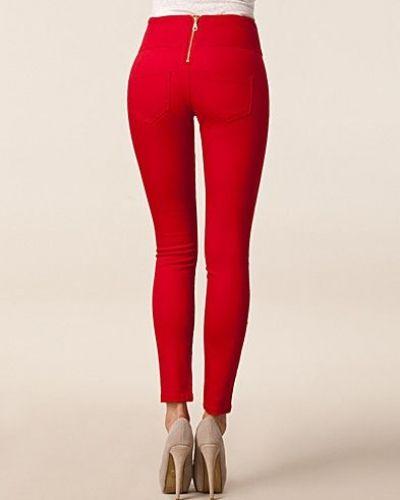 röda leggings dam