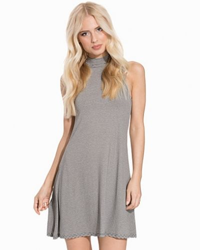 New Look Funnel Neck Sleeveless Swing Dress