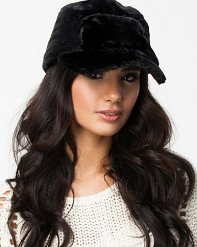Fur 5 Panel Cap W Gems - River Island - Kepsar