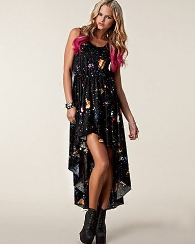 Ax Paris Galazy Drop Maxi Dress