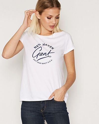 Till dam från Gant, en vit t-shirts.
