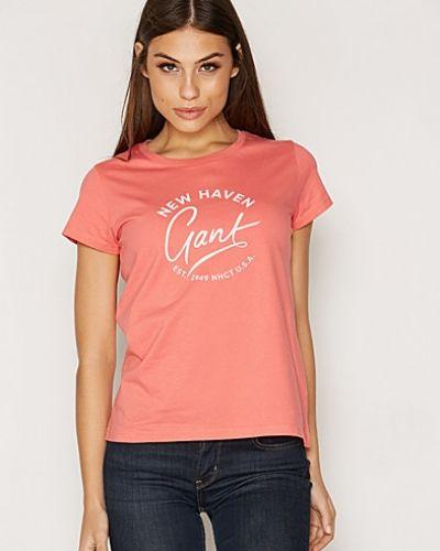 Gant Script T-Shirt Gant t-shirts till dam.