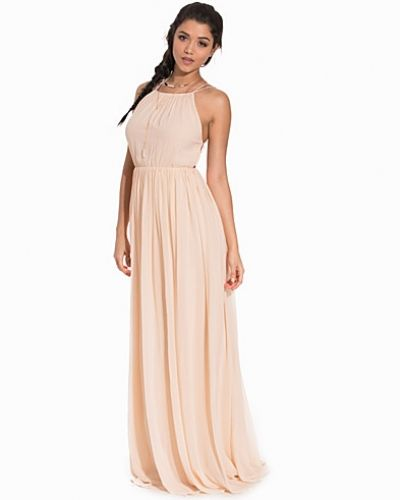 Nly Eve Geometric Back Gown