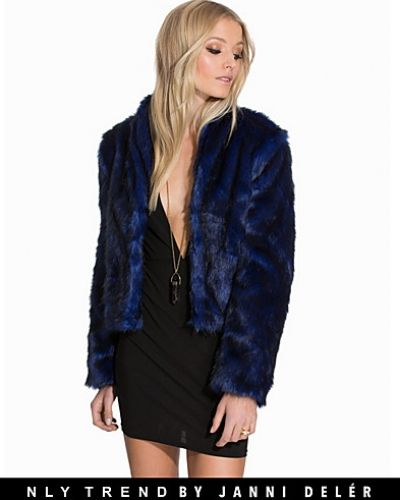 NLY Trend Glam Evening Fur Jacket