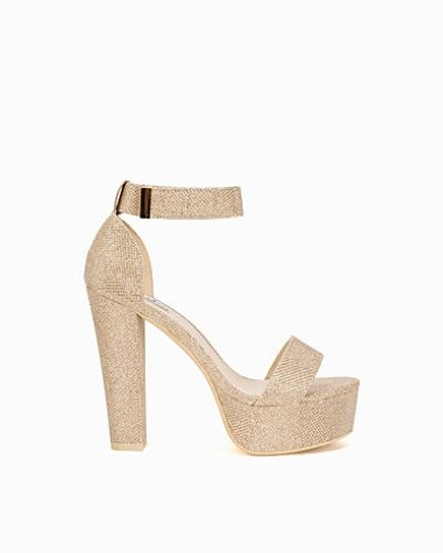Nly Shoes Glitter Platform Sandal