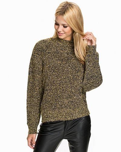 Glitter Sweater NLY Design stickade tröja till dam.