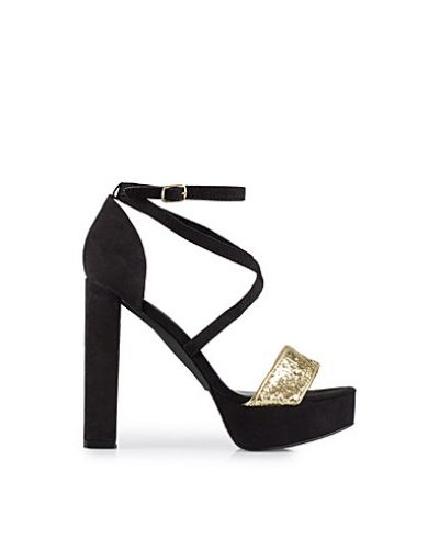 Nly Shoes Glitter Toe Sandal