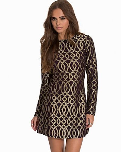 NLY Trend Golden Chain Dress