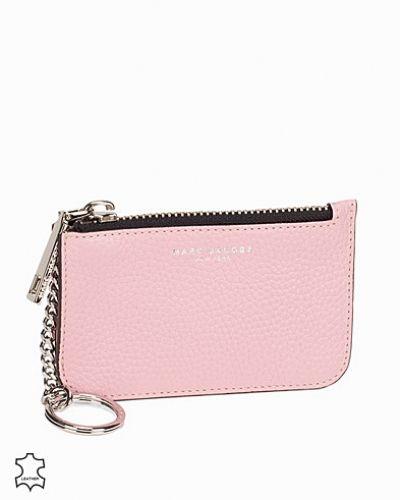 Rosa plånbok från Marc Jacobs till dam.