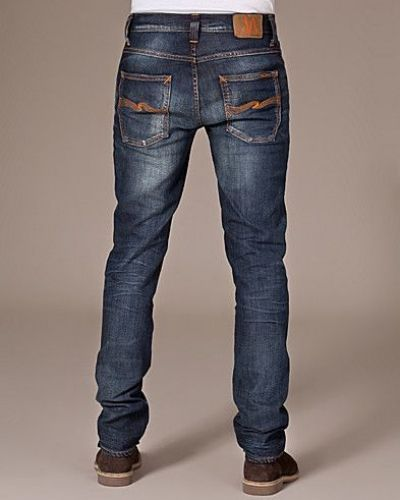 Slim fit jeans från Nudie Jeans till herr.