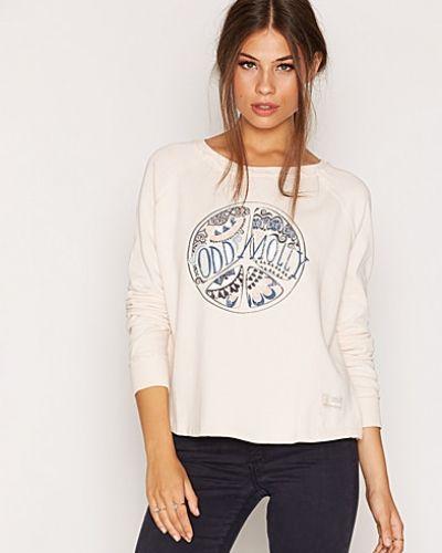 Naturfärgad sweatshirts från Odd Molly till dam.