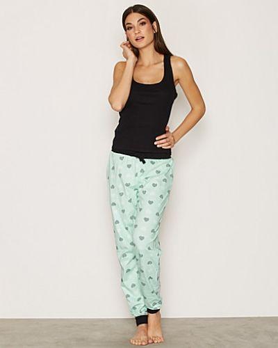 Heart Print Pyjama Set New Look pyjamas till dam.
