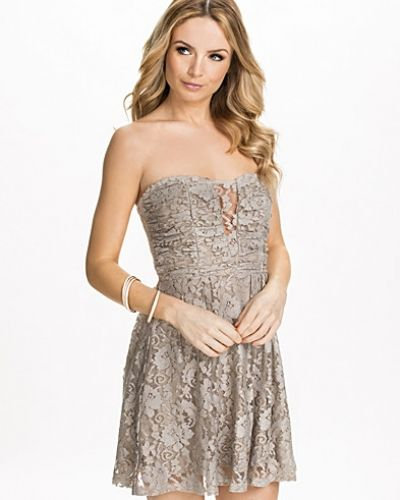 NLY Blush Heartshaped Lace Dress
