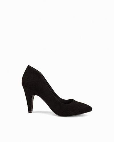 Bianco High Collar Pump