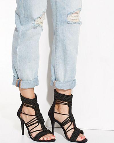 Högklackade High Heel Rope Bootie från Nly Shoes