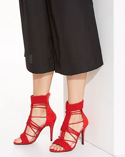 Nly Shoes High Heel Rope Bootie