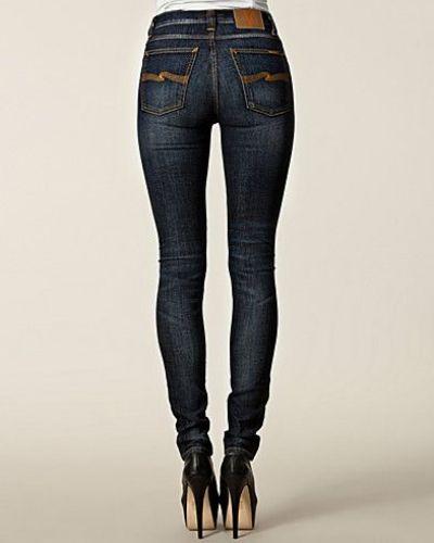 Nudie Jeans High Kai Organic Black Indigo