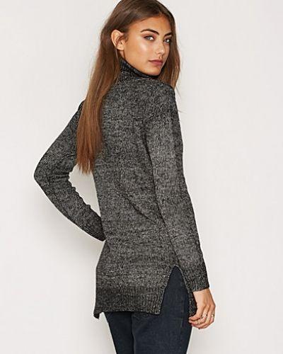 High Low Knit NLY Trend stickade tröja till dam.