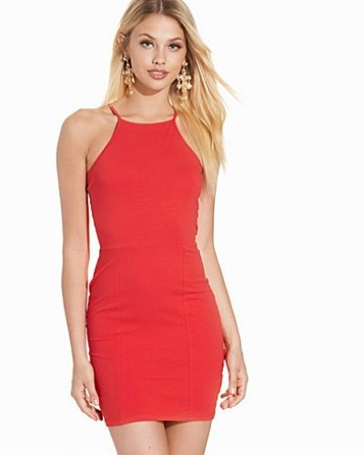 High neckline dress NLY Trend fodralklänning till dam.