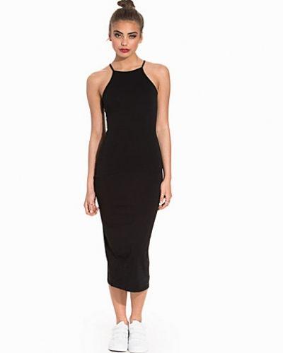 NLY Trend High Neckline Midi Dress