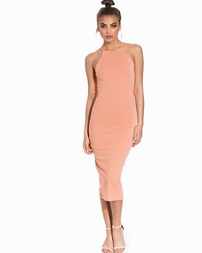 NLY Trend High Neckline Midi Dress