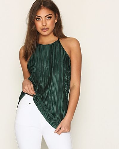 NLY Trend High Neckline Plissé Top