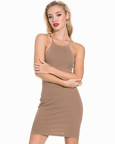 NLY Trend High Neckline Rib Dress
