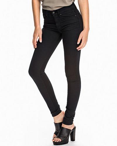 Blå slim fit jeans från Polo Ralph Lauren till dam.