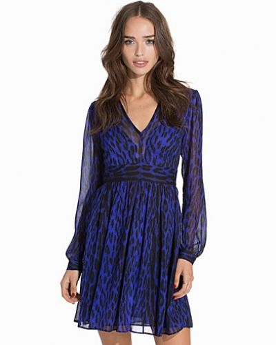 MICHAEL Michael Kors High Woods Neck Dress