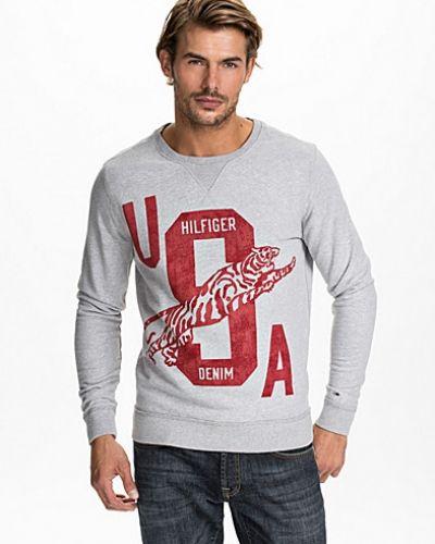 Hilfiger CN Knit L/S Hilfiger Denim sweatshirts till killar.