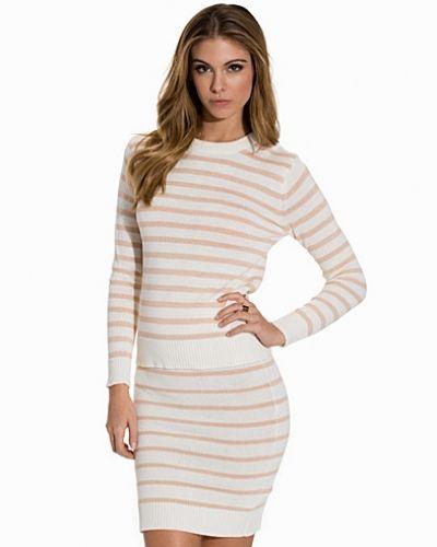 Flerfärgad stickade tröja från NLY Trend till dam.