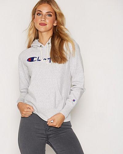 Till dam från Champion, en grå hoodie.