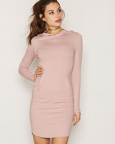 Klänning Hoodie Tight Dress från NLY Trend