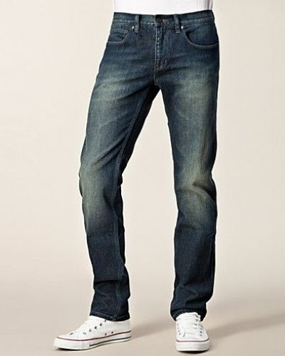 Blå slim fit jeans från Hugo Boss till herr.