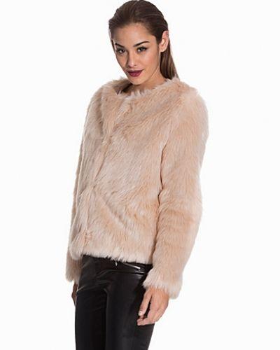 NLY Trend Ice Cream Fake Fur