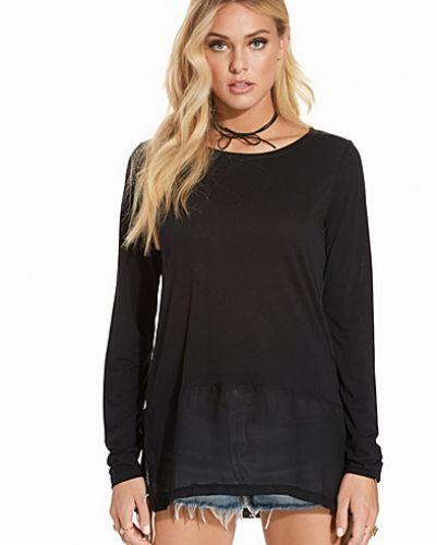 Svart oversize-tröja från Jacqueline de Yong till dam.