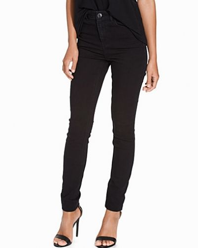 Byxa JDYSKINNY HIGH HOLLY JEANS BLACK NO från ONLY