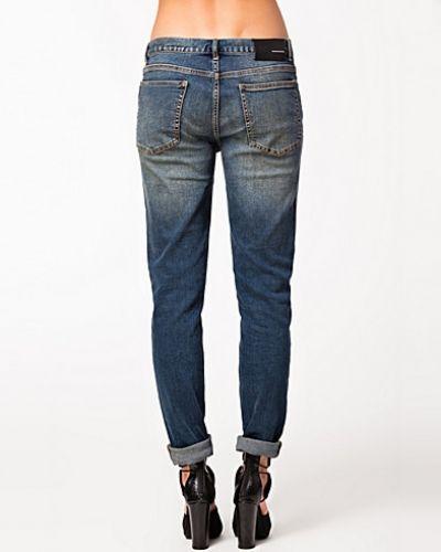 Jeans 11 Snyder Dark Blue BLK DNM straight leg jeans till dam.