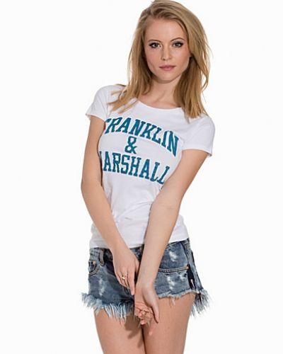 T-shirts från Franklin & Marshall till dam.